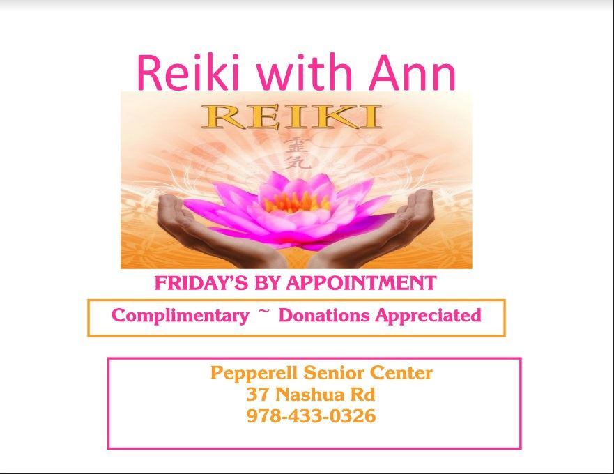 Reiki with Ann 180821