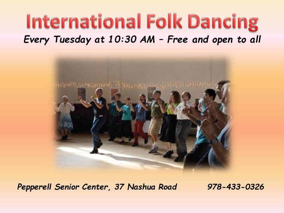 International Folk Dancing til whenever