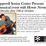 Howie Newman Flyer June 2019