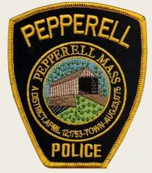 pepperell police patch