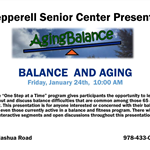 Balance and Aging Talk