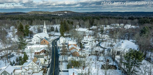 Pepperell in Winter